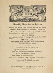 Advert For 'The Season', Periodocal reverse